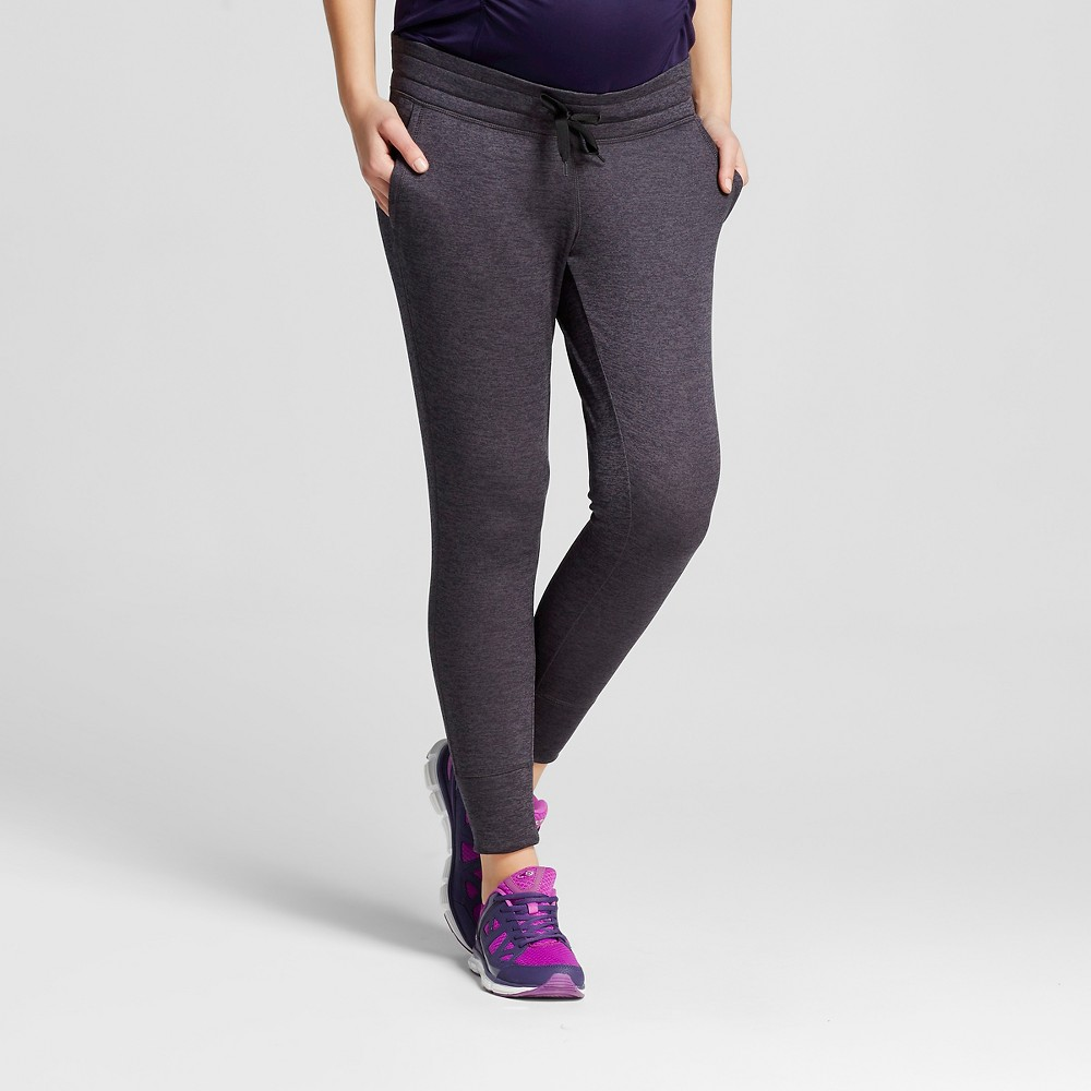 Women's Maternity Under the Belly Tech Fleece Jogger Pants - Gray Heather S - C9 Champion, Size: Small, Heather Grey