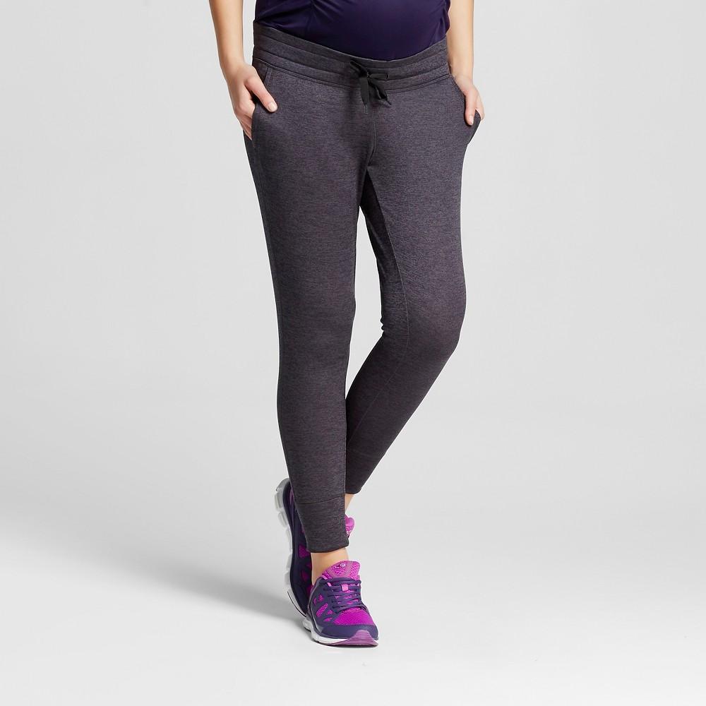 Women's Maternity Under the Belly Tech Fleece Jogger Pants - Gray Heather XL - C9 Champion, Heather Grey