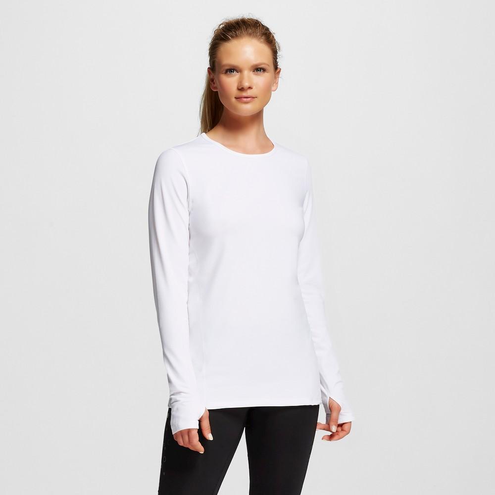 Women's Activewear Tee - White L - C9 Champion, Size: Large