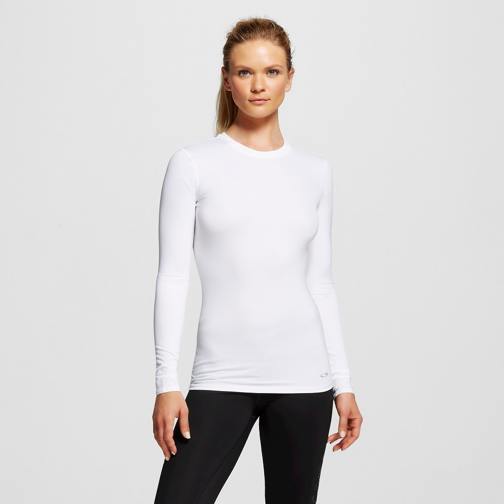 Women's Activewear Tee - True White L - C9 Champion, Size: Large