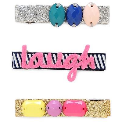 Girls' Gem And Laugh Hair Clip Cat & Jack™ -Multicolored