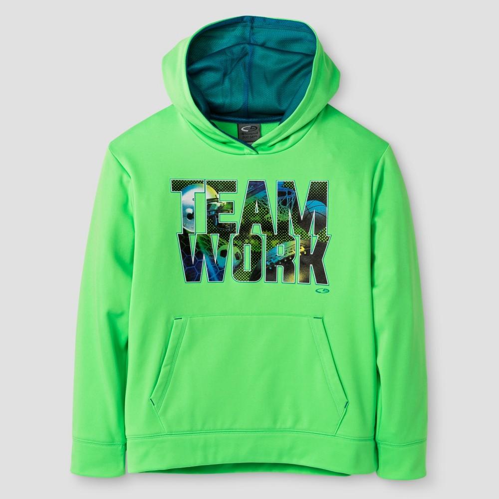 C9 Champion Boys' Graphic Tech Fleece Hoodie - Green S, Boy's, Size: Small
