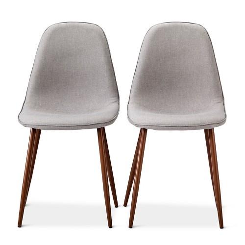 Porter Mid Century Modern Upholstered Dining Chair Set Porter Mid Century Modern Upholstered Dining Chair   Set of 2   eBay. Mid Century Modern Chairs Ebay. Home Design Ideas