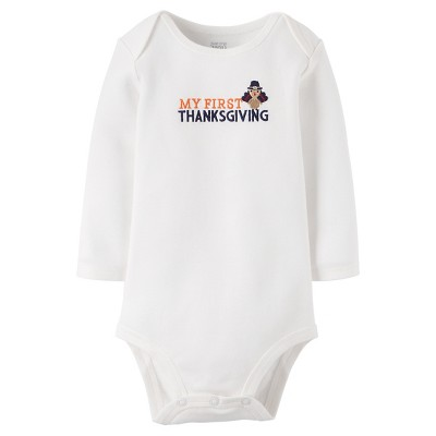 Babys' My First Thanksgiving Bodysuit 3M - Just One You™Made by Carter's®