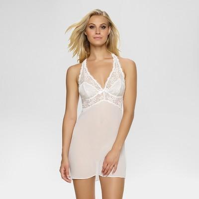 Jezebel® Women's Hela Chiffon Chemise - Light Off-white M