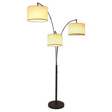 threshold 3 head floor lamp instructions