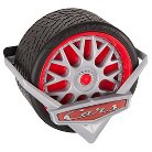 Huffy Cars Tire Case - Red