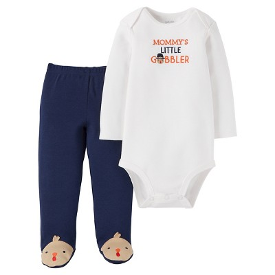 Babys' 2-Piece Mommy's Gobbler Set NB - Just One You™Made by Carter's®
