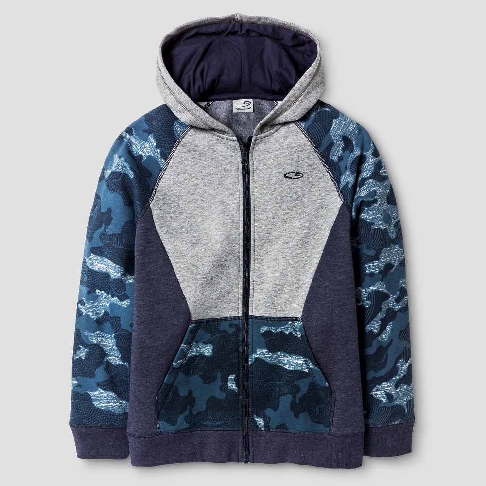 C9 Champion Boys' Fleece Hoodie - Navy (Blue) M, Men's, Size: Medium
