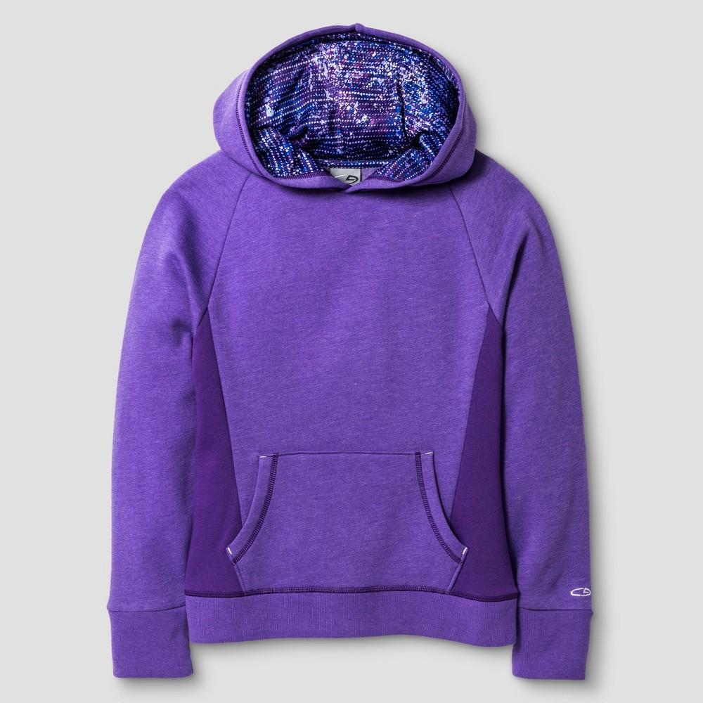 C9 Champion Girls' Fleece Hoodie - Heather Purple XL, Women's