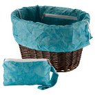 Huffy Basket Liner Bag - Blue