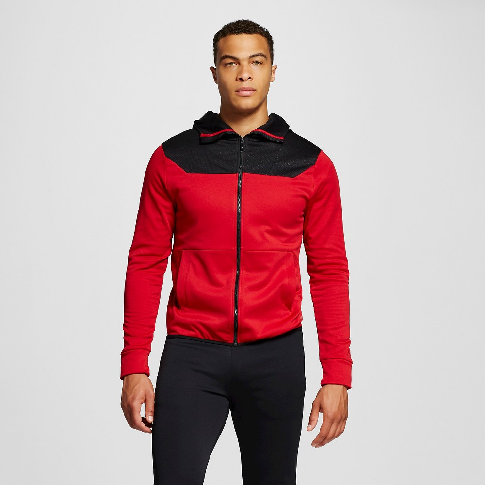 Men's Tech Fleece Hoodie Red Xxl - C9 Champion