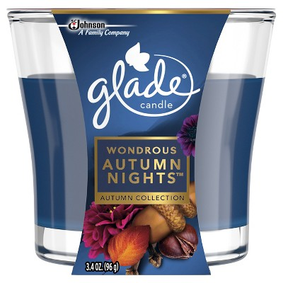 Glade Fall Candle Wondrous - Autumn Nights - 3.4 oz