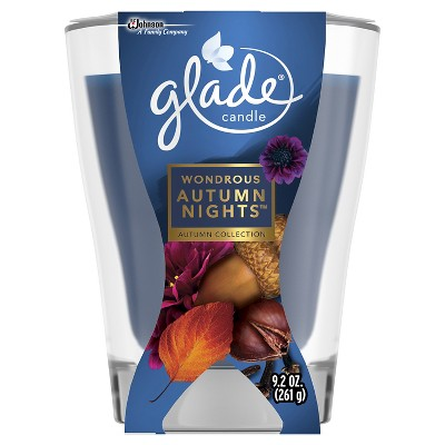 Glade Fall Candle - Wondrous Autumn Nights - 9.2 oz