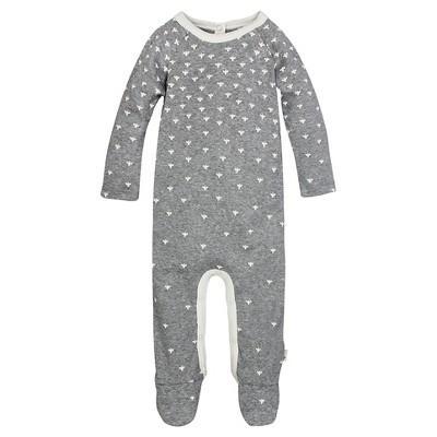 Burt's Bees Baby™ Union Suit - Grey 3-6M