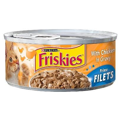 Friskies Prime Filets 5.5 oz. Cans