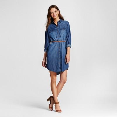 Denim strapless dress target