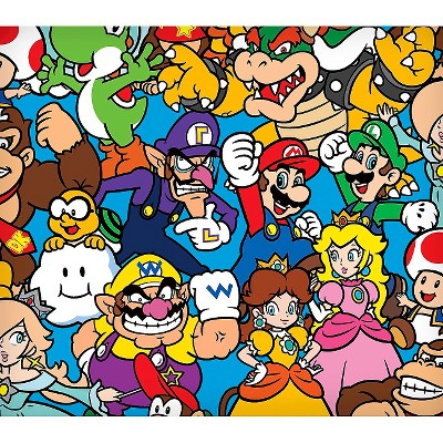 Nintendo Super Mario Packed Characters