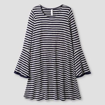 Long Sleeve Stripe Dress : Target