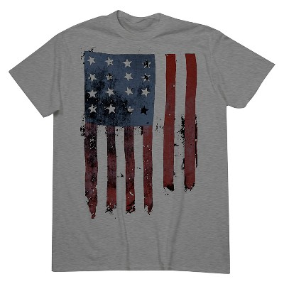 Men's American Flag T-Shirt Gray XL - Mossimo Supply Co. ™