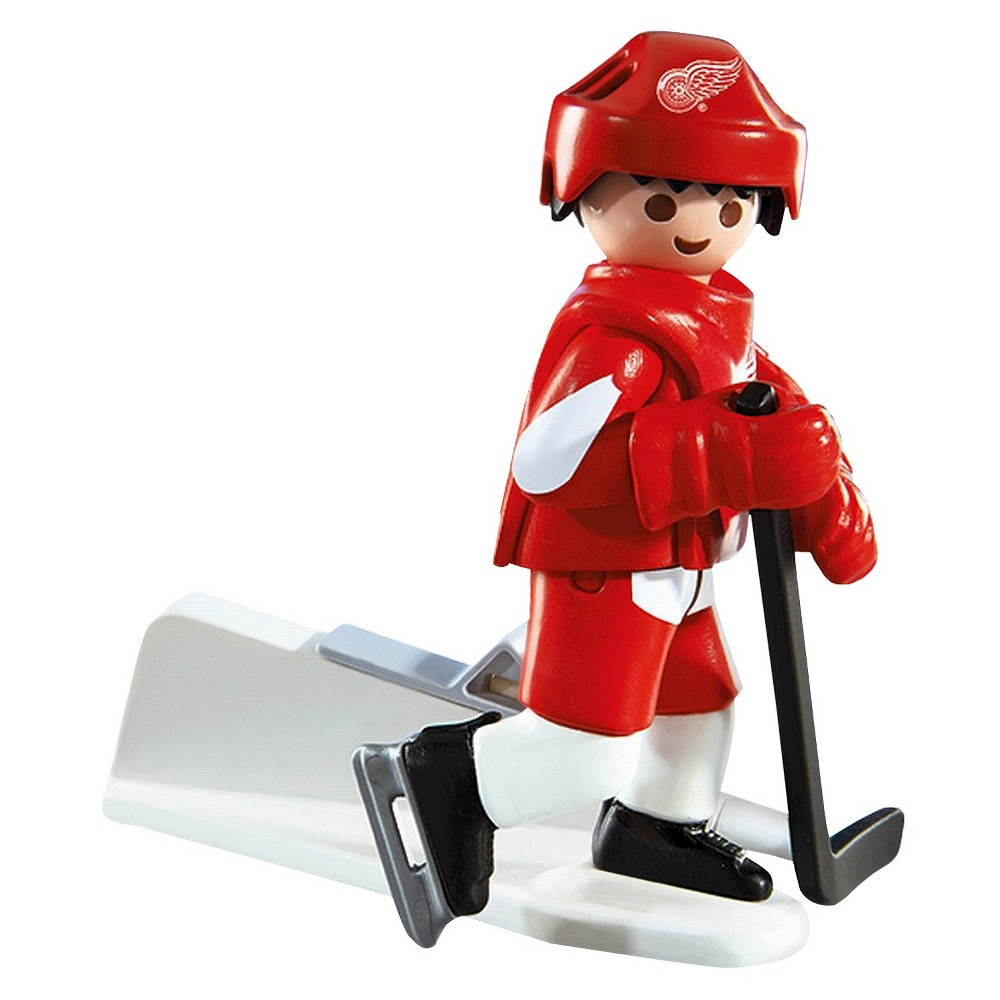 Playmobil NHL Detroit Red Wings Player -008, Multi-Colored