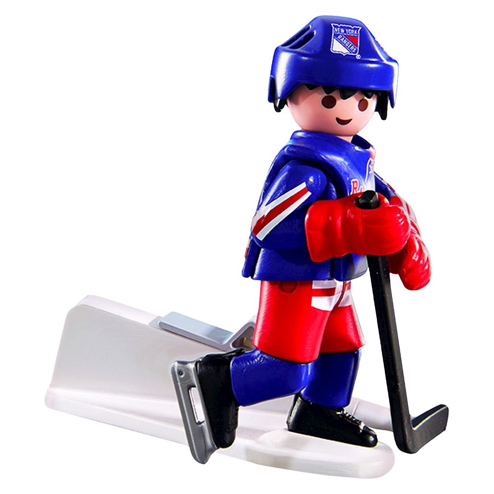 Playmobil Nhl- New York Rangers Player 012, Multi-Colored