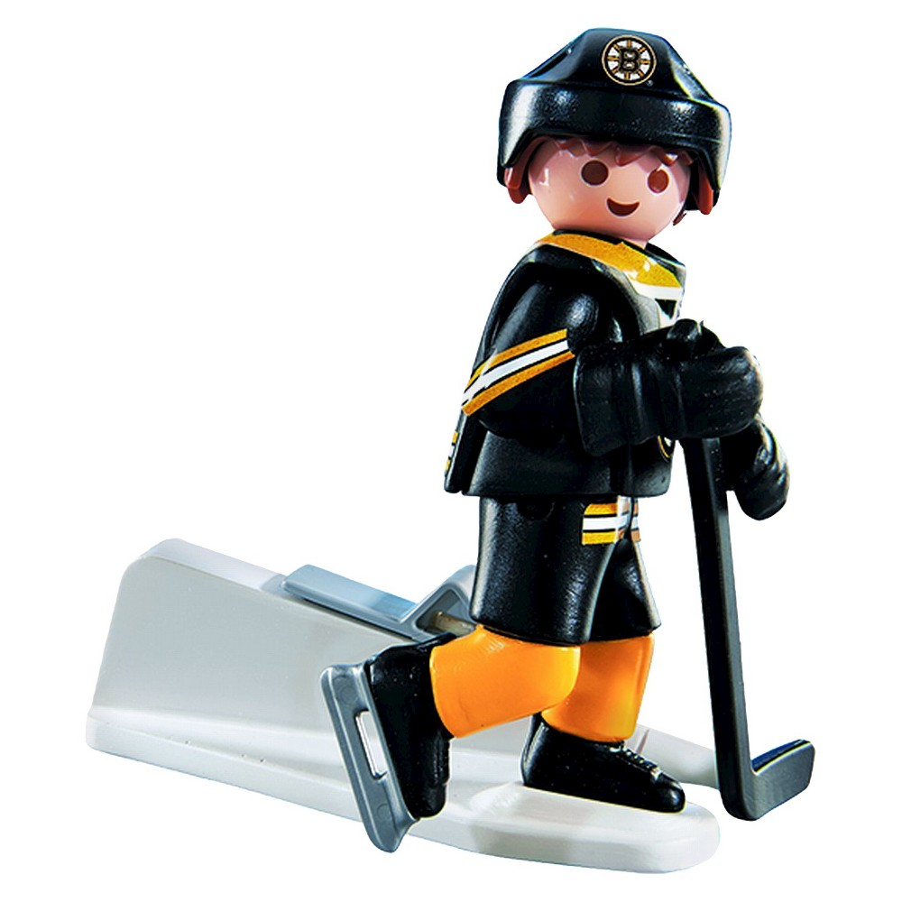 Playmobil NHL Boston Bruins Player -004, Multi-Colored