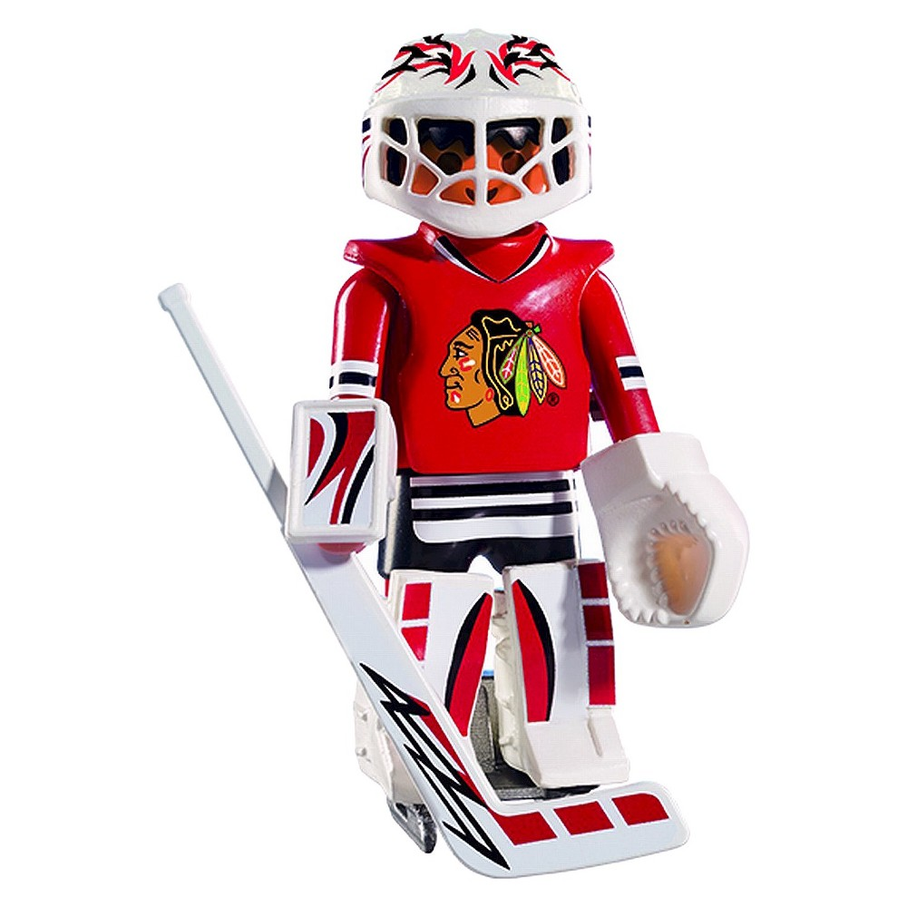 Playmobil Chicago Blackhawk Goalie Nhl-005, Multi Colors