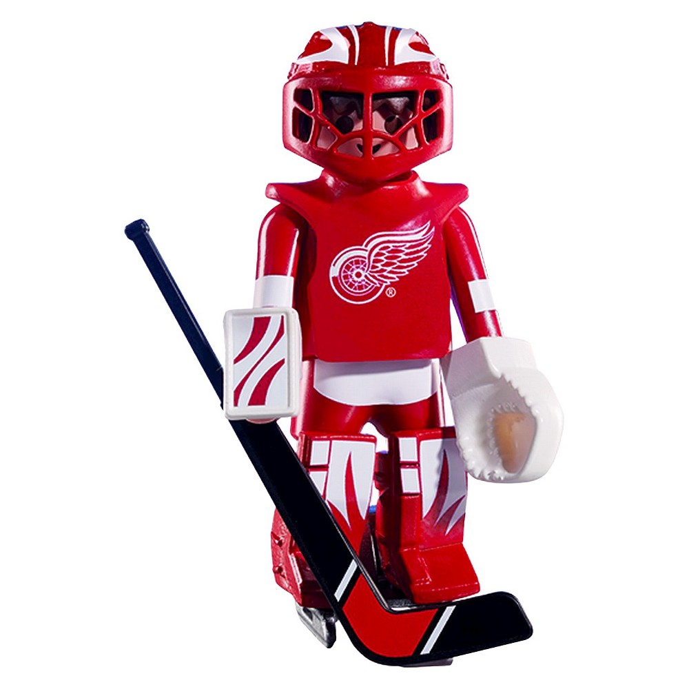 Playmobil Detroit Red Wings Goalie Nhl-007, Multi Colored