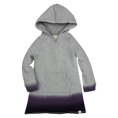 Burt's Bees Baby™ Girls' Dip Dye Hoodie - Purple 0-3M