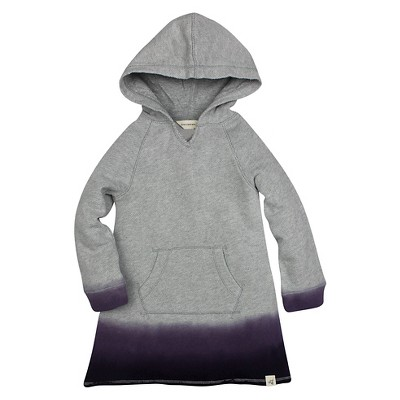 Burt's Bees Baby™ Girls' Dip Dye Hoodie - Purple 3-6M