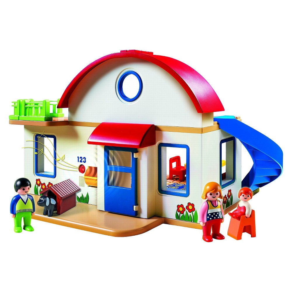Playmobil Suburban Home, Multi-Colored