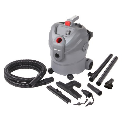Honeywell 4 Gal. Wet Dry Vacuum - Grey
