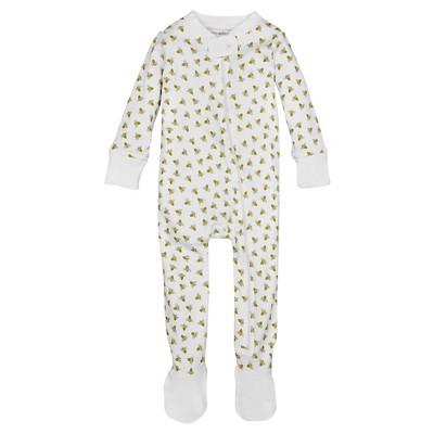 Burt's Bees Baby™ Honey Bee Sleeper - White 0-3M