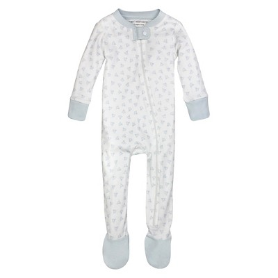 Burt's Bees Baby™ Boys' Honey Bee Sleeper - Blue 0-3M