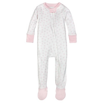 Burt's Bees Baby™ Girls' Honey Bee Sleeper - Pink 0-3M
