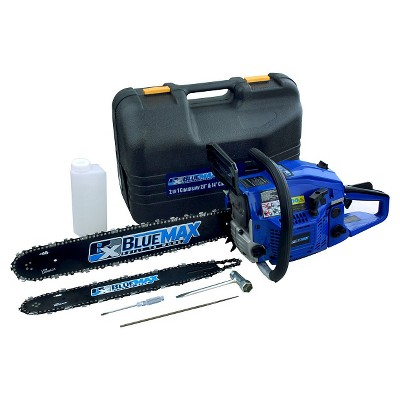 "Blue Max2 in 1 14""/20"" 45cc Combo Gas Chainsaw"