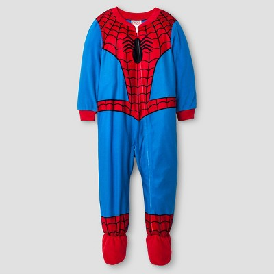 Baby Boys' Spiderman® Fleece Footed Sleeper with Cape Sleeves - 12M