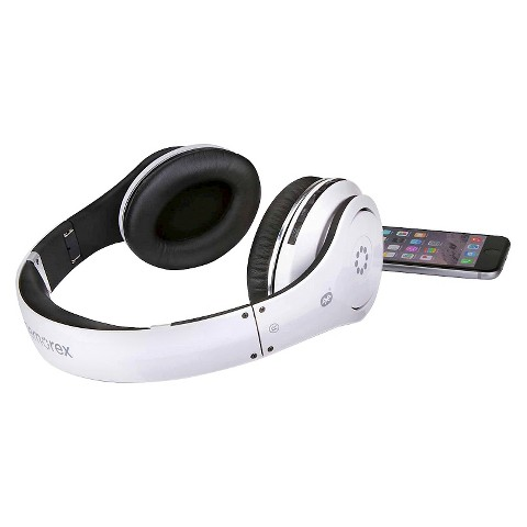 memorex bluetooth wireless headphones white m target. Black Bedroom Furniture Sets. Home Design Ideas