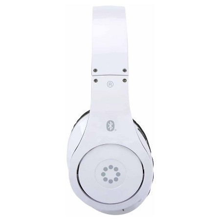 memorex bluetooth wireless headphones white mhbt0545wm target. Black Bedroom Furniture Sets. Home Design Ideas