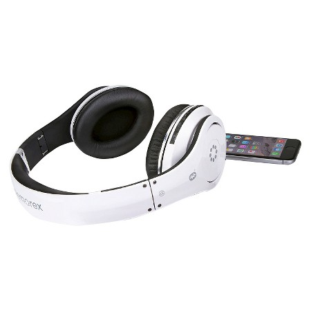 memorex bluetooth wireless headphones white mhbt0545wm target. Black Bedroom Furniture Sets. Home Design Ideas