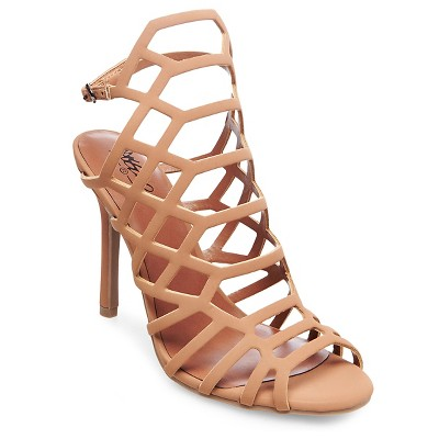 Women's Kylea Gladiator Pumps - Tan 9