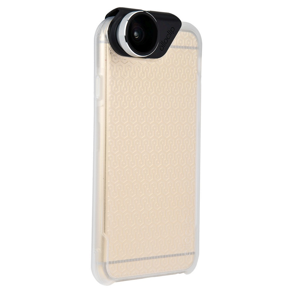 iPhone 6/6s Plus - Olloclip Lens and Case Combo - Clear/Silver
