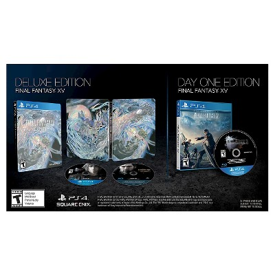 Final Fantasy XV Deluxe Edition (PlayStation 4)