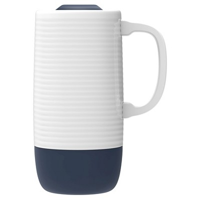 Ello Jane Travel Mug 18oz Ceramic - Navy