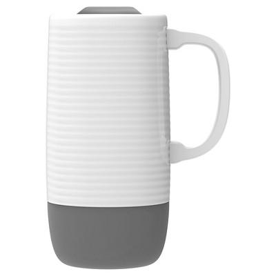 Ello Jane Travel Mug 18oz Ceramic - Radiant Grey