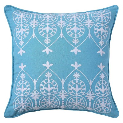 "Royale Throw Pillow Teal (16""x16"") - VCNY®"