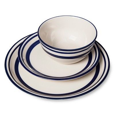 Fremont Dinnerware Set 12-pc .White - Beekman 1802 FarmHouse™