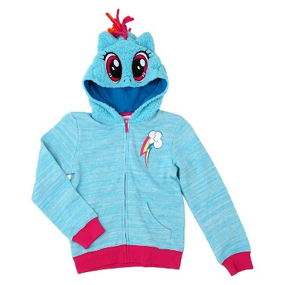 Girls' My Little Pony™ Costume Hoodie  - Blue S