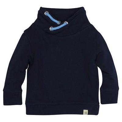 Burt's Bees Baby™ Boys' Sweatshirt - Dark Blue 0-3M